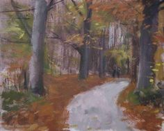 2e Loolaan Doetinchem, Holland, painting by artist Rene PleinAir