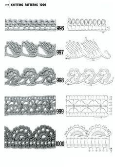 1000 - Donna Taylor - Picasa Web Albums - all 1000 patterns free (knit and crochet patterns)