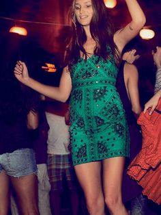 Free People Black Magic Mirror Bodycon at Free People Clothing Boutique