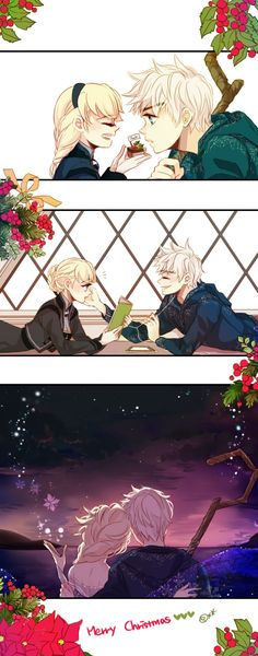 Here is a picture for Jelsa Secret Santa event. I hope you like this, 'icantreallyfindausername' The three favorite things are 'Chocolate,Reading and the Sea'. I like all those themes, I couldn't...