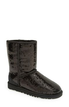 UGG®+Australia+'Classic+Short+with+Sparkles'+Boot+available+at+#Nordstrom