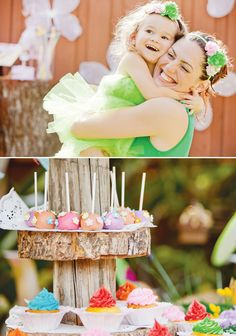 Tinkerbell birthday party, hostess with the mostess