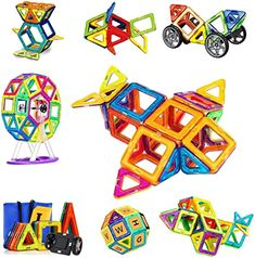 These Magnetic Building Toys Will Help Children Start To Understand Magnetism And How Effective It Can Be. #magneticbuildingblocks  #magneticbuildingblock  #magneticbuildingblocs Magnetic Building Blocks, Building Toys, Learning Colors, Kids Learning, Toys For Boys, Kids Toys, Alphabet Cards, Educational Toys For Kids, Toys Shop