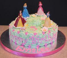 Disney Princess Cake (front)
