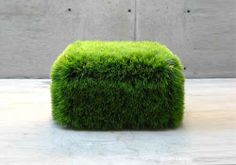 Grass ottoman! Great addition to the grass sofa!