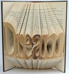 Isaac Salazar creates these amazing book sculptures...
