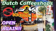 Corona Virus Affected Coffeeshops Re-Open with limits in Amsterdam and the Netherlands Dutch Government, Coffee Shop, Netherlands, Amsterdam, Things To Sell, Crown, Coffee Shops, Holland, Loft Cafe
