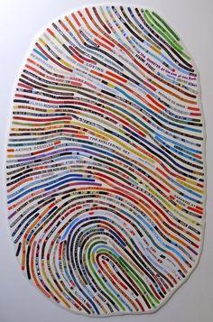 Fingerprint- color lines