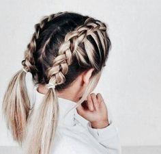 Image de hair, braids, and beauty