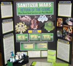 crestsciencefair / Are commonly used hand sanitizers actually preventing spread of bacteria