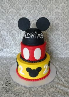 Mickey Mouse Cake for Adrian
