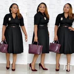 Office Clothing in Nigeria for sale ▷ Prices for Fashionable clothes on Jiji.ng ▷ Buy and sell online Office Dresses For Women, Office Outfits Women, Dresses For Work, Clothes For Women, Office Clothing, 11 Clothing, African Lace Dresses, African Dresses For Women, Modest Outfits