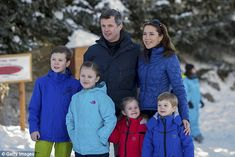 Crown Princess Mary and Crown Prince Frederik have four children - Christian, 10, Isabella...