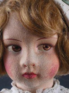 Felt Dolls, Paper Dolls, Antique Dolls, Vintage Dolls, Vintage Floral, French Vintage, My Doll House, Hello Dolly, Retro Art