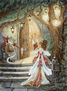 Once Upon A TIme A Fairy Ball by Tinadh