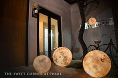 Luna Lanterns: Beautiful, Realistic Moon Lamps