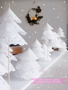 Forest of Doily Trees by Oui Oui Oui Studio