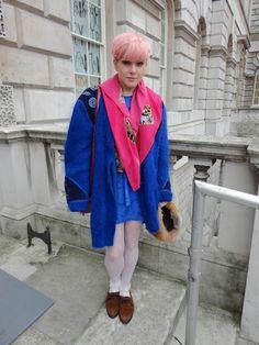 LFW street style Feb 2012