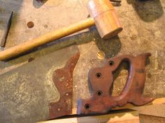 Restoring an Old Handsaw | Norse Woodsmith