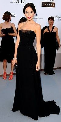 Camilla Belle WHAT SHE WORE For the amfAR Cinema Against AIDS Gala at  Cannes 79278e245