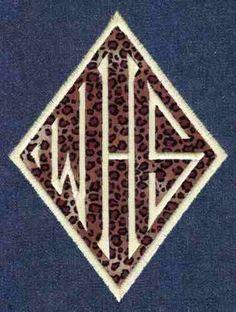 431 Diamond Monogram Satin Jolsons