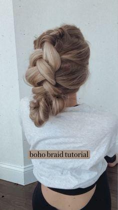 Everyday Hairstyles, Pretty Hairstyles, Braided Hairstyles, Girl Hair Dos, Hair Due, Blonde Hair Looks, Aesthetic Hair, Mermaid Hair, Hair Hacks