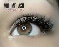 Are you familiar with Volume Lash? These are the lash extensions you want if you have thin and sparse natural lashes, or if you just want to achieve a more dramatic look. #lashbeauty #lashextensions #eyelashextensions