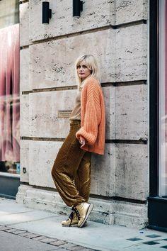 Copenhagen Fashion Week Street Style Clothing, Shoes & Jewelry : Dresses for Women, Girls & Baby Girls : Women http://amzn.to/2lyOcr6