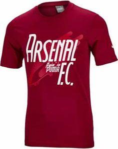 dfebe09bc90 2017 18 Puma Arsenal Graphic Tee. Hot at www.soccerpro.com Arsenal