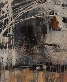 """P41"" - by Iris Rickart - mixed media on paper"