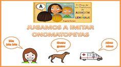 Jugamos a Imitar Onomatopeyas producidas por el cuerpo humano. Autora Eugenia Romero. http://blogdelosmaestrosdeaudicionylenguaje.blogspot.com.es