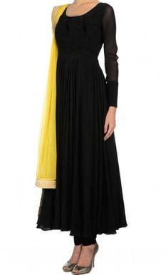Anarkali Eid Salwar Suit Indian Pakistani Designer salwar kameez Ethnic dress in Clothing, Shoes & Accessories, Cultural & Ethnic Clothing, India & Pakistan Indian Gowns Dresses, Indian Fashion Dresses, Indian Designer Outfits, Pakistani Dresses, Indian Outfits, Frock Fashion, Ethnic Fashion, Long Dress Design, Stylish Dress Designs