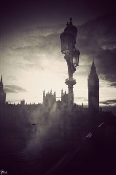 I remember being in London, depressed it wasn't as gloomy as it's usually depicted,