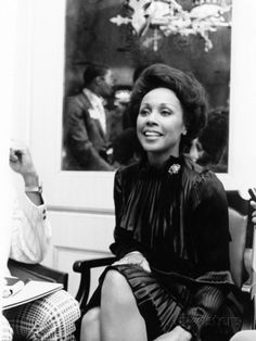 Diahann Carroll - 1974. Photo licensed from Johnson Publishing Company, publisher of EBONY and JET magazines.  Diahann Carroll in a candid photo.