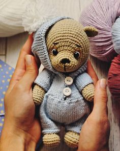 2019 amigurumi velvet making – Artofit Knitted Teddy Bear, Crochet Bear, Crochet Gifts, Crochet Dolls, Easy Crochet, Amigurumi Doll, Amigurumi Patterns, Crochet Patterns, Amigurumi Tutorial