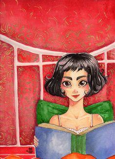 Amelie Poulain movie postcard
