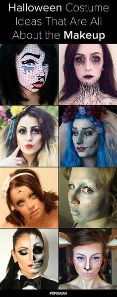 Some of these are doable by a non-pro, some not. 101 Halloween Costumes That Are Terrifyingly Gorgeous