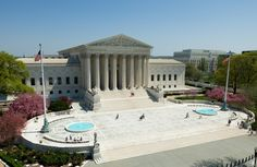 Architecture of the Capitol | Outside view of The U.S. Supreme Court Building that was modeled after ...