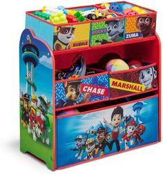 Nickelodeon Delta Children Paw Patrol Multi-Bin Toy Organizer