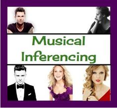 Inferencing and Predicting Through Music!  {Common Core}