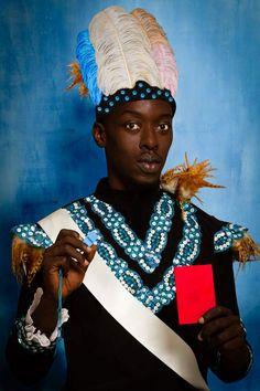 Omar Victor Diop - Albert Badin, 2014, Série Diaspora - Impression jet d'encre pigmentaire sur papier Harman by Hahnemuhle - © Omar Victor Diop - Courtesy Galerie MAGNIN-A, Paris