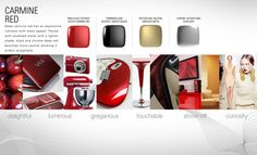 Color Material Finish Strategies by Vivek Kalyan, via Behance