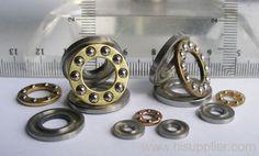 ISO9001 Miniature stainless steel thrust ball bearings