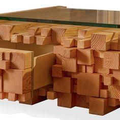 Log Pile Coffee Table