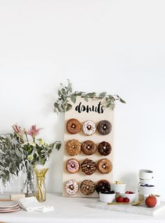 DIY Donut Wall @themerrythought