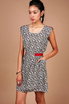 Triangle Wafer Dress - Casual Dresses at Pinkice.com