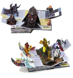 Star Wars: A Pop-Up Guide to the Galaxy book by Matthew Reinhart, the best pop-up book EVER!!!