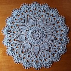 Pineapple Song Doily / Rug Pattern