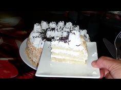 حلوة لكريم بثلاثة مكونات بالنسبة لجينواز بدون فرن سهلة التحضير اقتصادية - YouTube Vanilla Cake, Youtube, Food, Kitchens, Birthday, Essen, Meals, Youtubers, Yemek