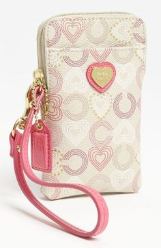 Heart Print Phone Case // COACH